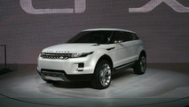 Land Rover LRX Unveiled at Detroit