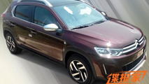 Citroen C3-XR spotted undisguised in China
