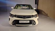 Global Toyota Camry facelift revealed in Moscow
