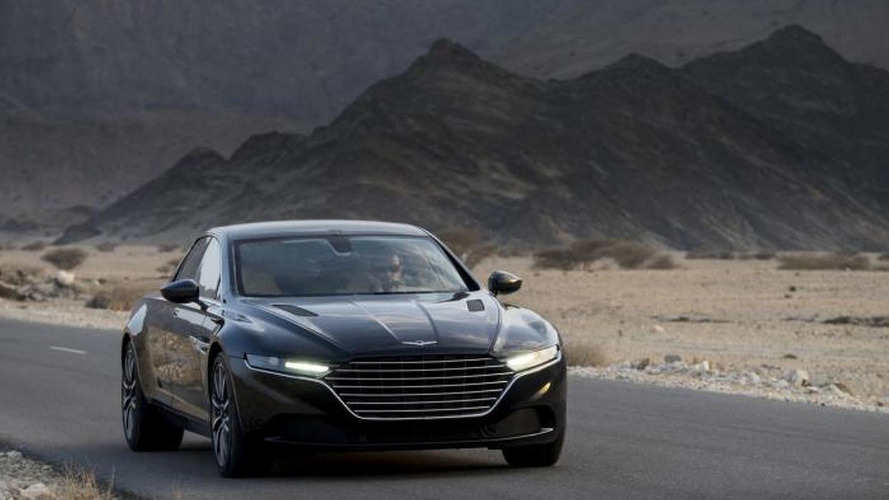 Aston Martin Lagonda returns in official images