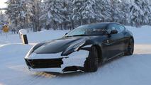 2016 Ferrari FF spied undergoing cold weather testing