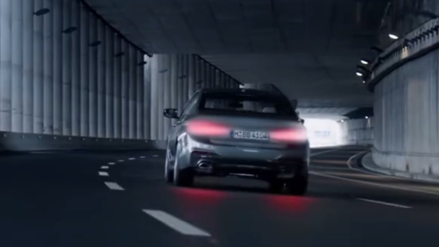 2017 BMW 5 Series teasing continues [UPDATED]