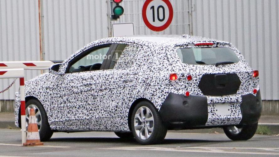 2018 Opel Corsa spy photo