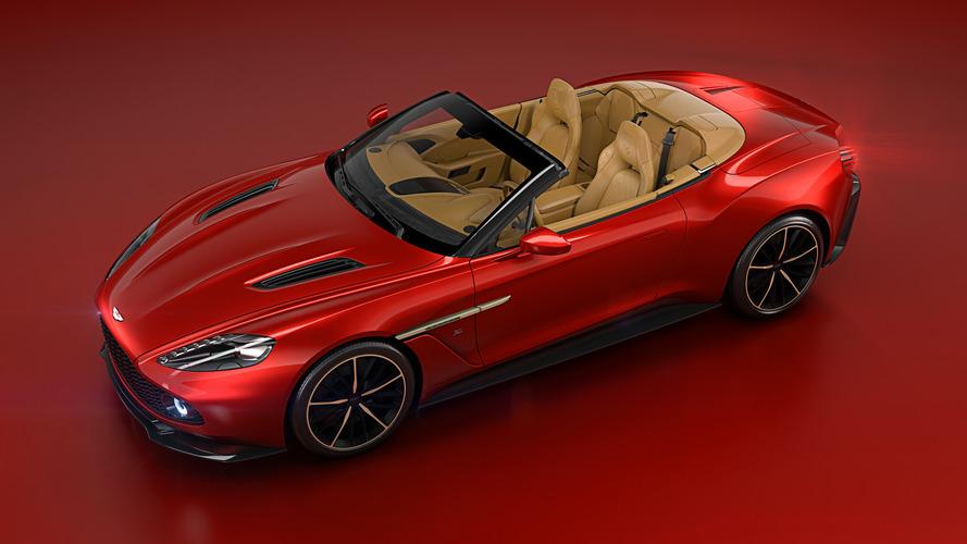 Report: Aston Martin Vanquish Zagato Volante priced at $850K