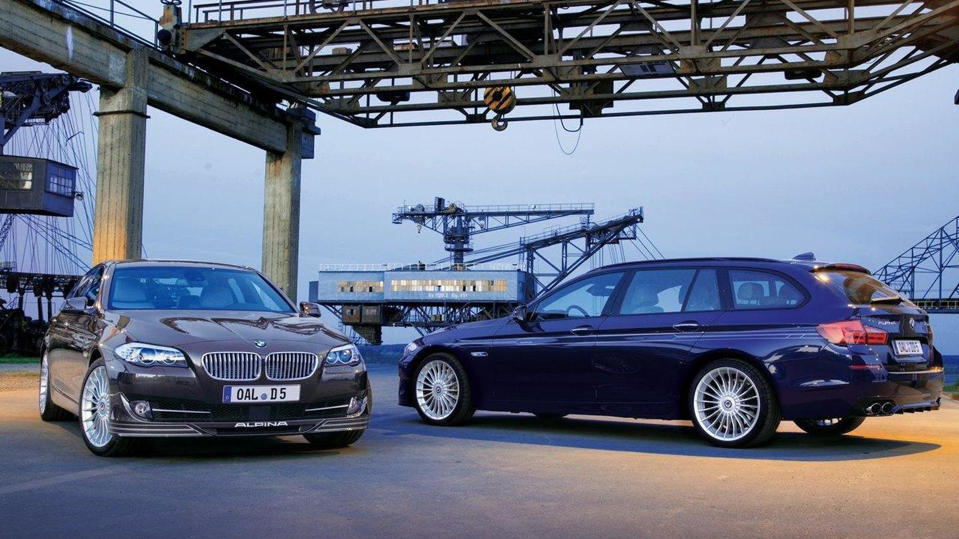 BMW Alpina D5 Bi-Turbo unveiled