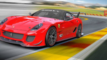 Ferrari 599XX Evolution Pack announced with active aerodynamics and 750 HP