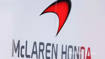 McLaren Honda logo and signage