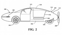 Toyota Transforming Flying Car Patent
