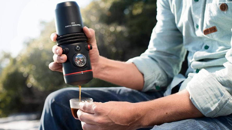 Audi highlights their portable espresso machine