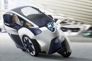 Toyota i-Road Concept Envisions Future of City Driving