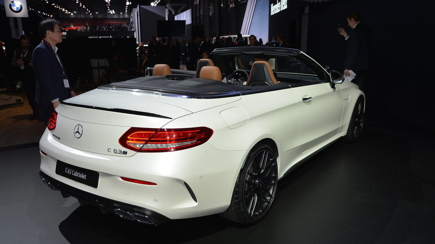 2017 Mercedes-AMG C63 Cabriolet brings open-air V8 performance