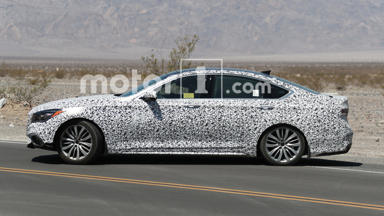 Genesis G80 Sport Spy Photos