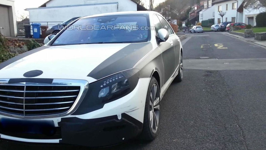 2013 Mercedes-Benz S-Class spied up close by WCF reader