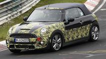 2015 MINI Cooper S Cabrio spied at the Nurburgring