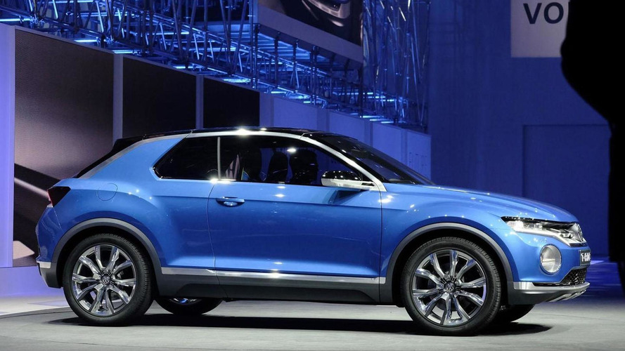 Volkswagen T-ROC concept unveiled, could preview a new crossover