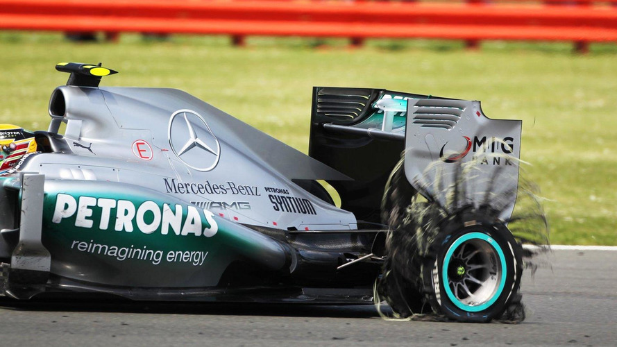 F1's tyre-exploding crisis now over - drivers