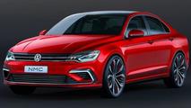 Next-gen Volkswagen Jetta to get sedan, wagon, Alltrack and coupe versions - report