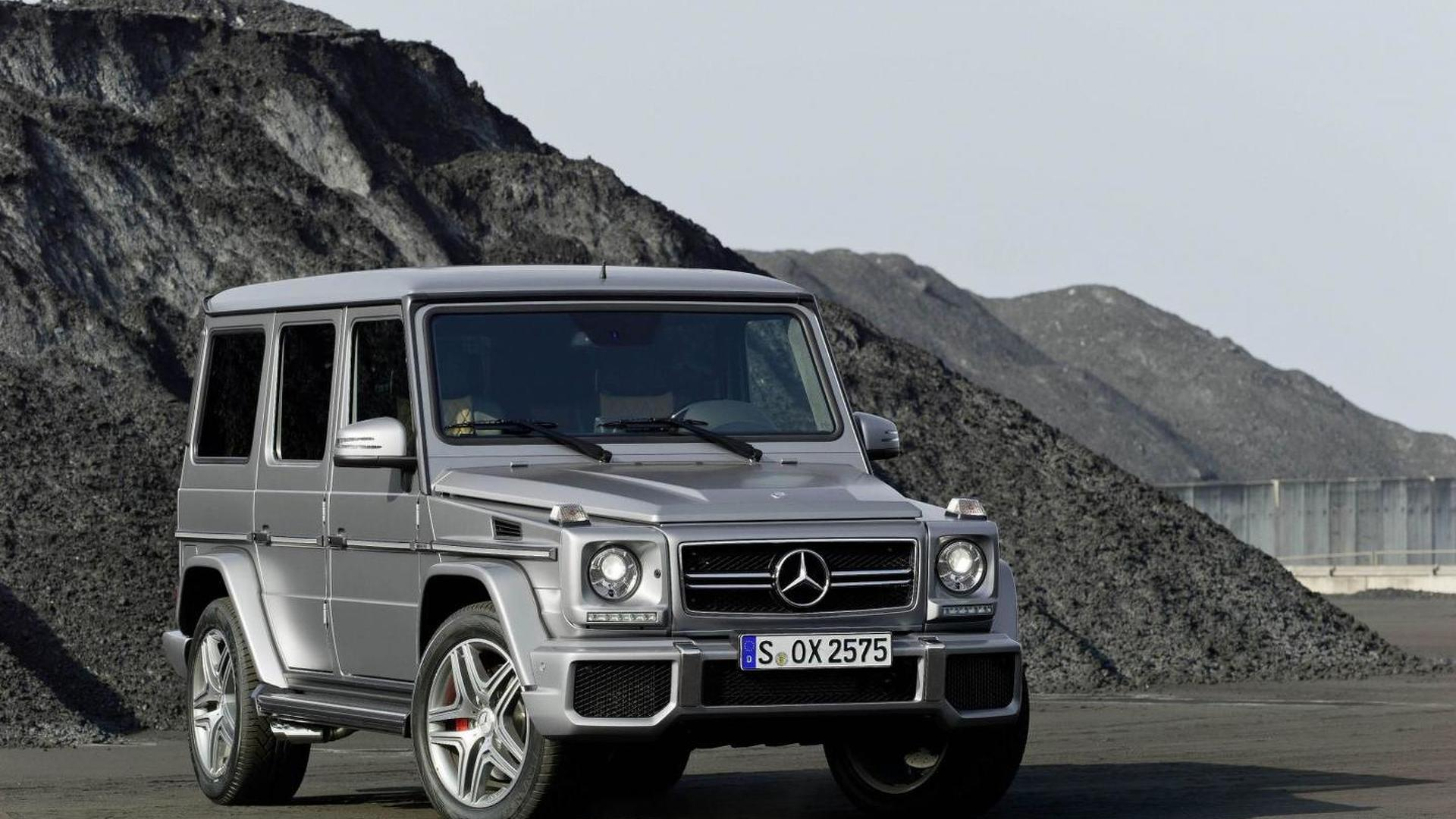 Mercedes-Benz G-Class priced in UK from 82,495 pounds