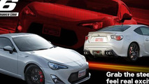 Toyota GT 86 TRD caught on video