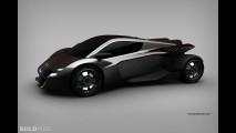 Lamborghini Electric Concept by Adriano Mudri
