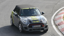 MINI JCW Cabrio test driver loses control and spins out at the Nürburgring