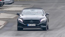2016 Mercedes-Benz S-Class Cabriolet spy photo