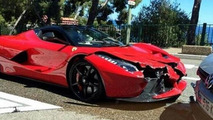 LaFerrari facelifted by a Volkswagen Golf in Monaco