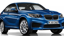 2017 BMW X2 Sports Activity Coupe rendered