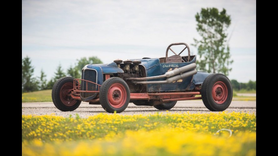 Original Ford Dirt Track Racer Heading To Auction