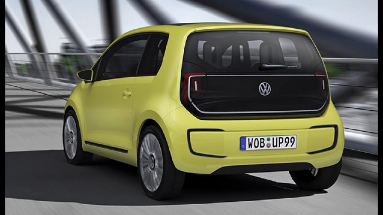 """Salão de Frankfurt: Volkswagen diz que elétrico E-Up! Concept é o """"Fusca do século 21"""""""