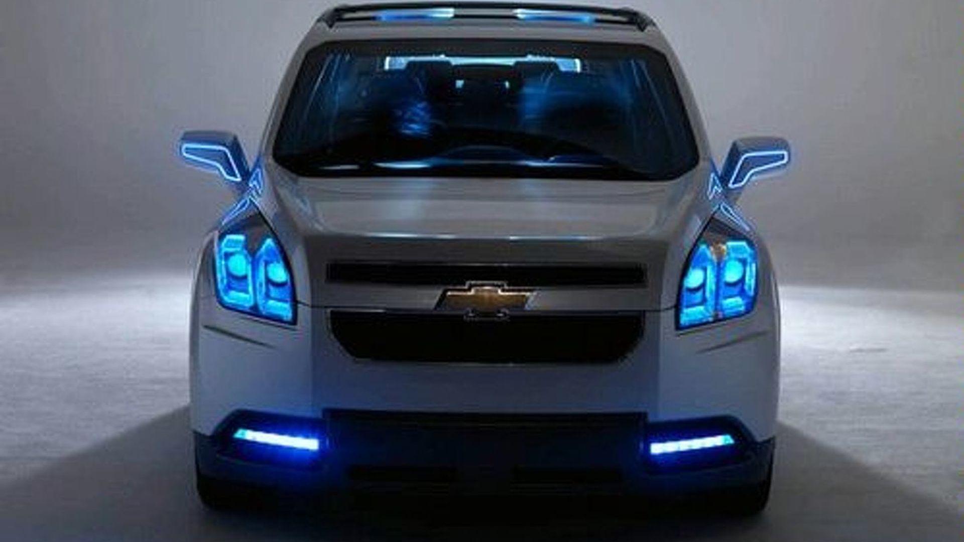 Chevrolet Orlando Concept Spreads NetWide