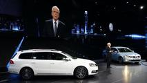 2011 Volkswagen Passat facelift and Jetta live in Paris 30.09.2010