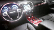Chrysler Reveal First Interior Image of Next Generation 300