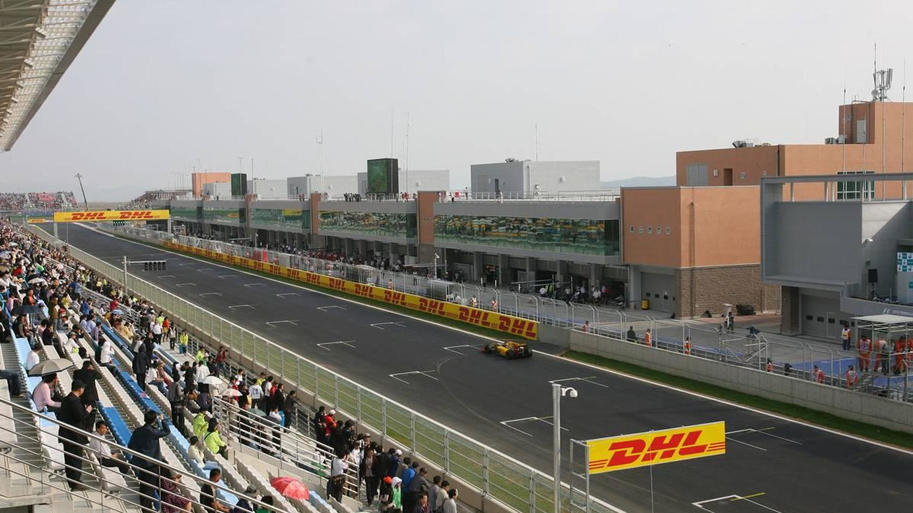 Robert Kubica (POL), Renault F1 Team - Formula 1 World Championship, Rd 17, Korean Grand Prix, Friday Practice, 22.10.2010 Yeongam, Korea