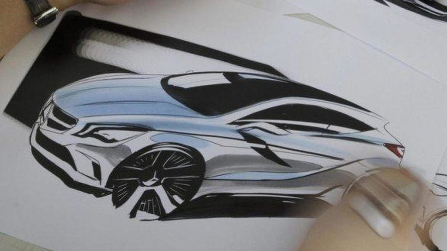 2012 Mercedes A-Class sketch leaked