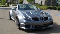 Mercedes SLK55 AMG widebody kit by Rex Accelero