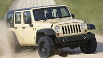 Jeep J8 multipurpose vehicle based on 2007 Jeep Wrangler Unlimited