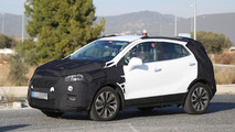 Opel Mokka facelift spy photos