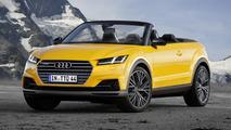 Audi TTQ Roadster render shows Range Rover Evoque Convertible rival that won't happen