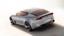 Kia GT concept - new photos leaked