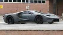 2017 Ford GT without paint looks apocalyptic in these spy shots