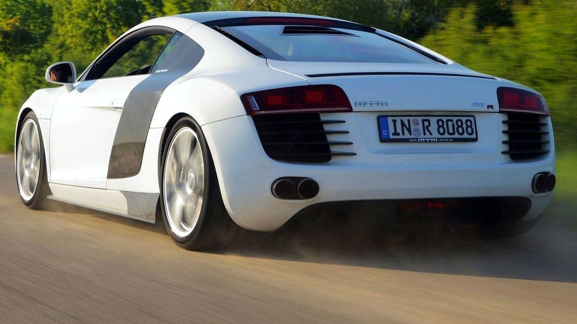 MTM Supercharged Audi R8: Juicy Details Revealed