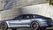 Next-generation Porsche Panamera rendering 03.1.2013