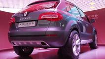 Renault Koleos Concept Unveiled at Paris