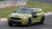 MINI Clubman spied at the Nurburgring