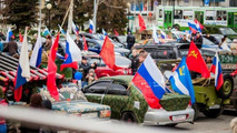 Victory Day celebrated in Russia