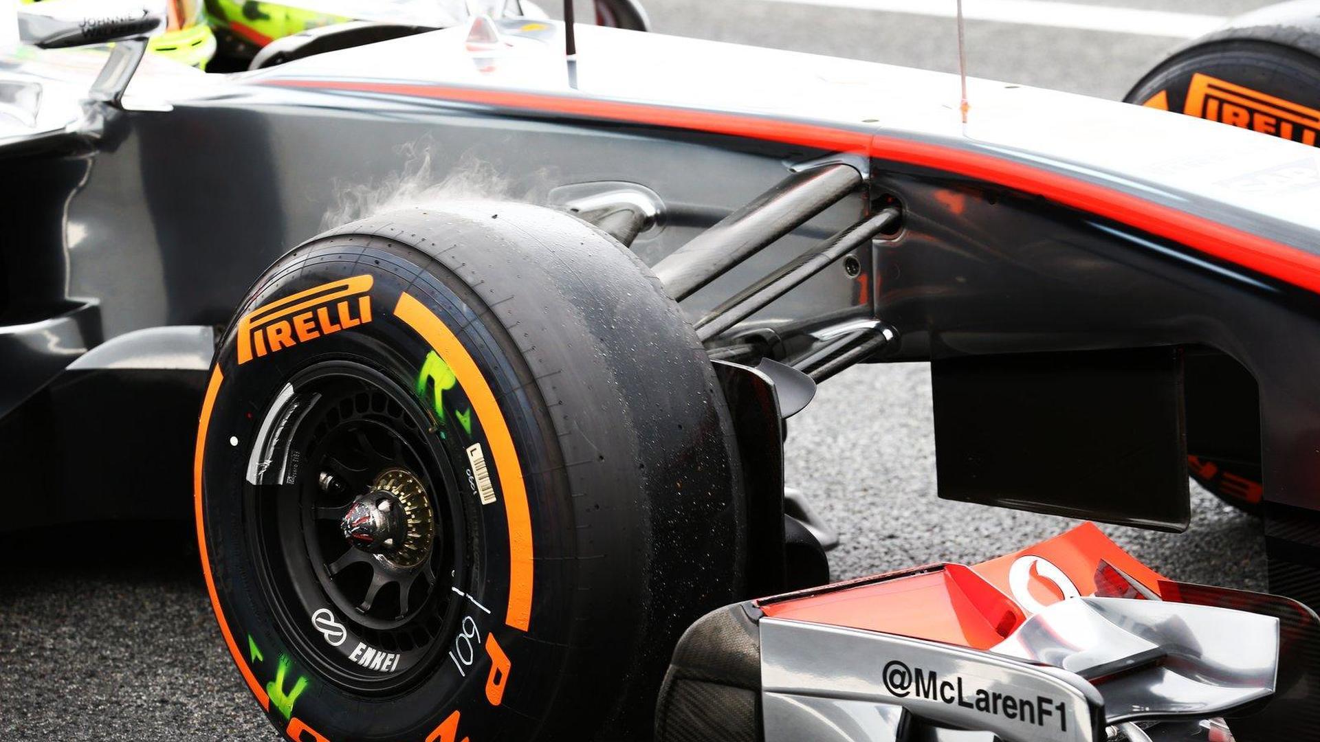 Aragon likely new venue for McLaren-Pirelli test