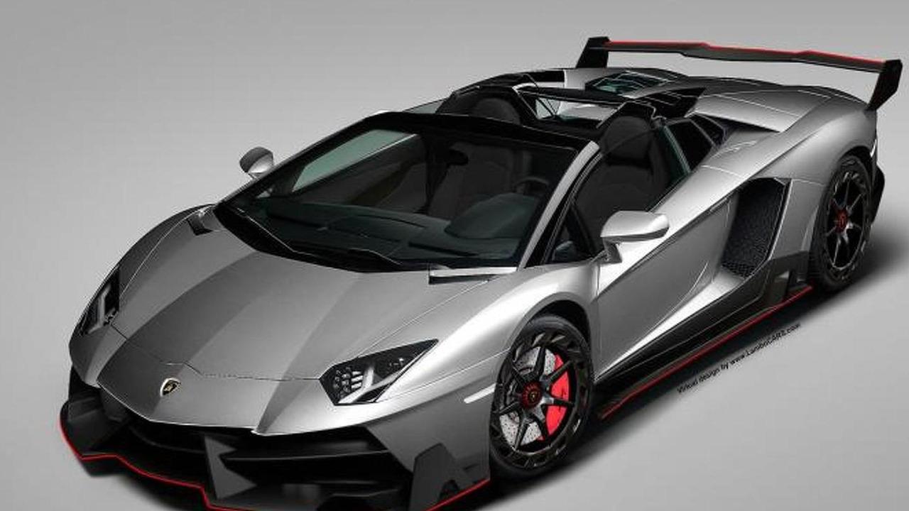 Lamborghini Aventador Roadster with Veneno-inspired body kit 29.07.2013