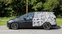 BMW 2-Series Active Tourer seven-seater spied showing larger size