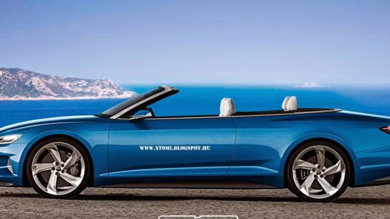 Audi Prologue piloted driving concept cabriolet render